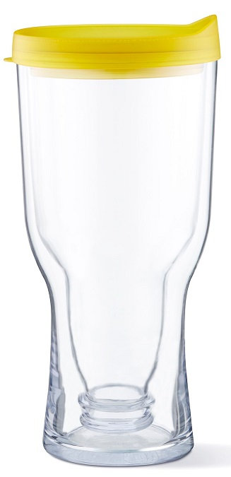 18 oz.,Double Wall, Insulated, Beer Tumbler