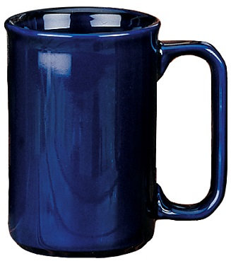 11 Oz., Covington, Tall, Straight Sided, D Handle, Ceramic, Drinkware, Round, Cylindrical