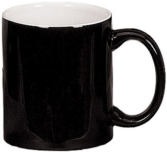 Ceramic, Coffee Cup, Coffee Container, Break Resistant, Heat Fusion, Nonporous Finish, Dense Core, C Handle, Drinking Cup