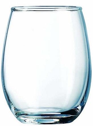 Rounded, Stemless Wine Glass, Stemless, Drinking Holder, Beverage Holder, Wide Mouth, Transparent