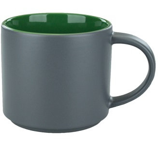 Ceramic Mug, Norwich Mug, Two Tone, Multi Color, Coffee Mug, Drinkware, Restaurant