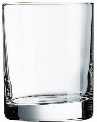 11 Oz., Aristocrat, Double Old Fashioned, Barware, Heavy Base, Straight Sided, Round, Circle, Transparent, Glass, Glassware