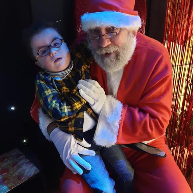 Santa at The Christmas Fayre