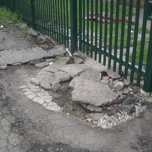 D & J Gate Entrance