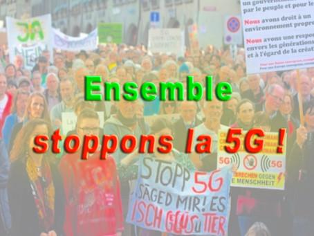 Bulletin #2 : Ensemble stoppons la 5G