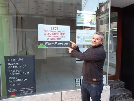 Nouvelle agence ELEC SECURE à Mamers (72)