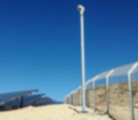 Solar farm Intruder detection with CCTV_