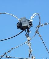 Razor wire sensor