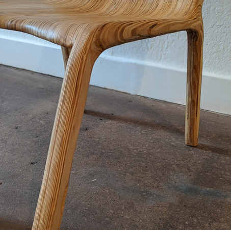 Plywood Chair Detail