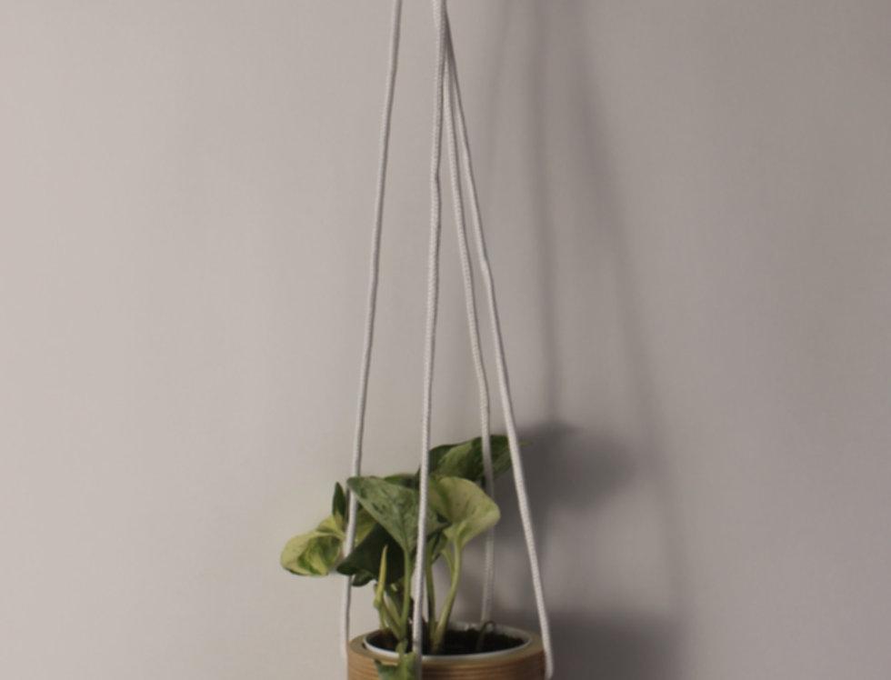 Plywood Hanging Planter