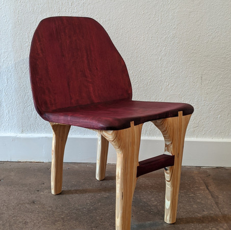 Purple Heart Chair