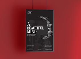 Free Brand Hanging PSD Poster Mockup Des