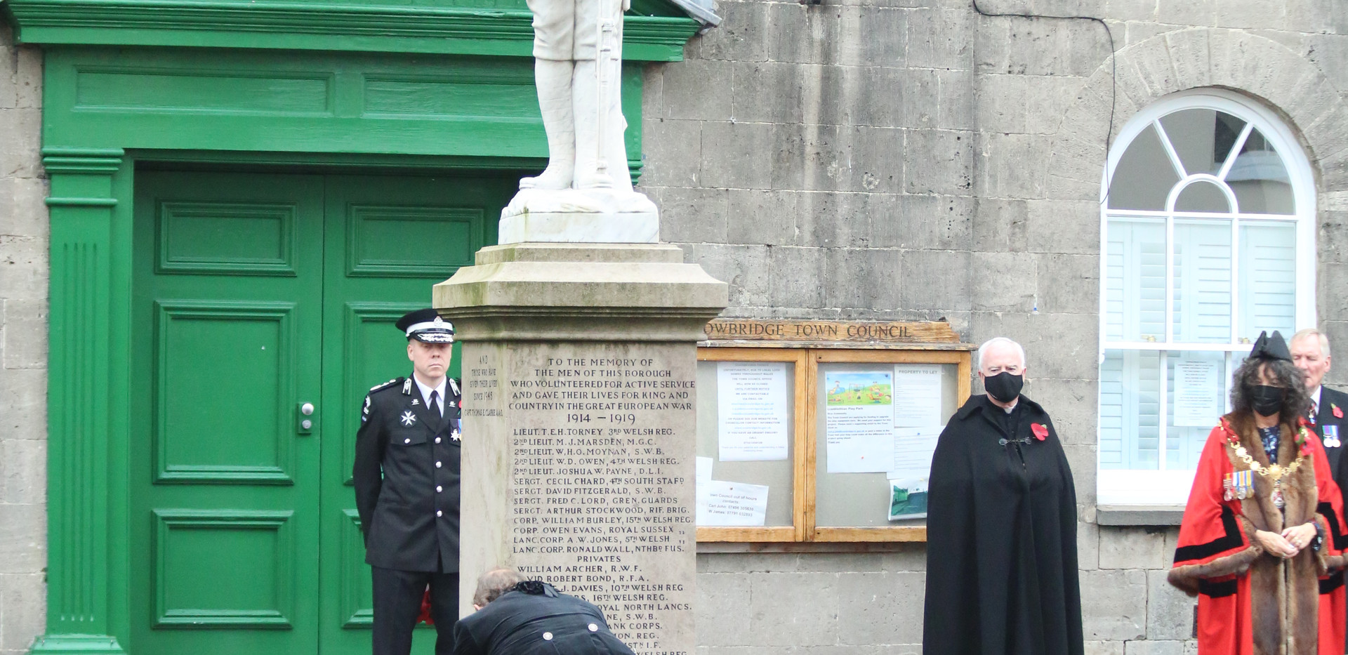 Remembrance Day service in Cowbridge.JPG