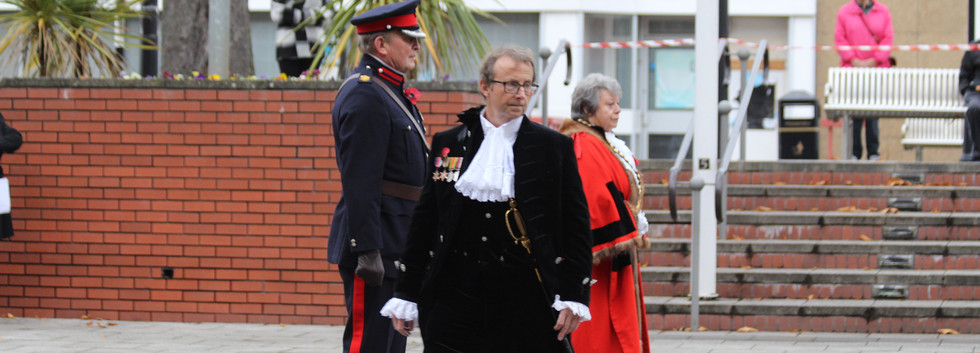 Remembrance Day service in Barry.JPG