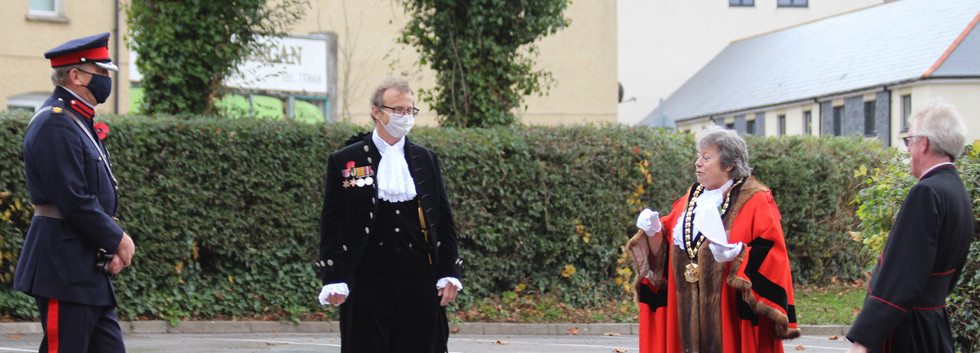 Remembrance Day service in Barry .JPG