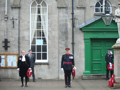 Remembrance Day service in Cowbridge.JPG