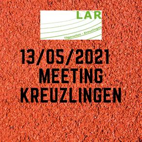 MEETING KREUZLINGEN 13/05/21