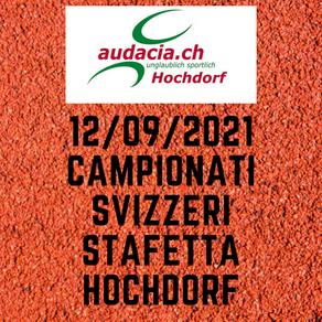CAMPIONATI SVIZZERI DI STAFETTA HOCHDORF 12/09/21
