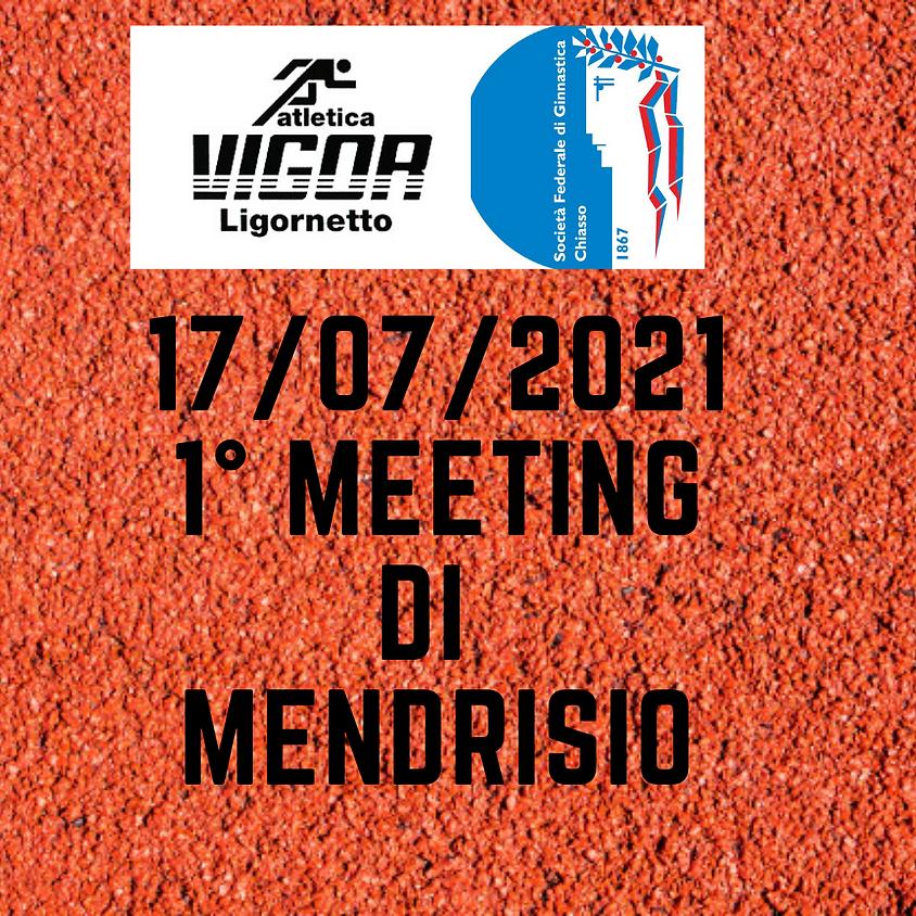 1° MEETING CITTÀ DI MENDRISIO
