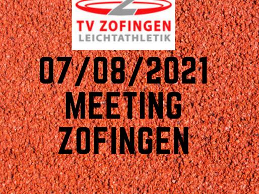 MEETING ZOFINGEN 07/09/21