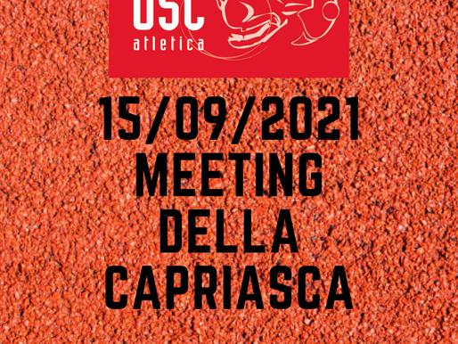 MEETING DELLA CAPRIASCA 15/09/2021