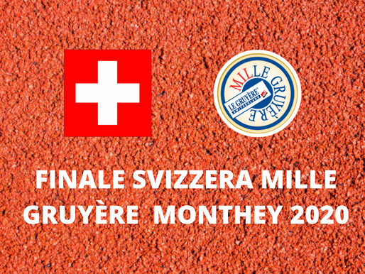 FINALE MILLE GRUYÈRE MONTHEY 26/09/2020