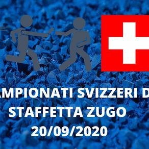 CAMPIONATI SVIZZERI DI STAFFETTE ZUGO 20/09/2020