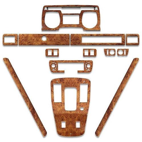 Jaguar XJS Elm Deluxe  dashboard Wood Kit 1981 - 1985