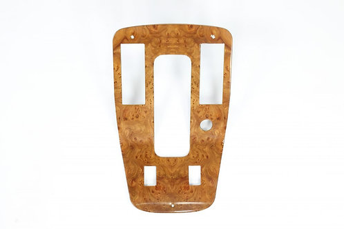 Jaguar XJS Elm Veneer Console/Gear Shift Surround for Automatic Transmission w
