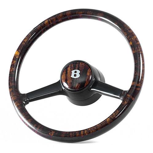 Bentley Turbo Deluxe Walnut Steering Wheel