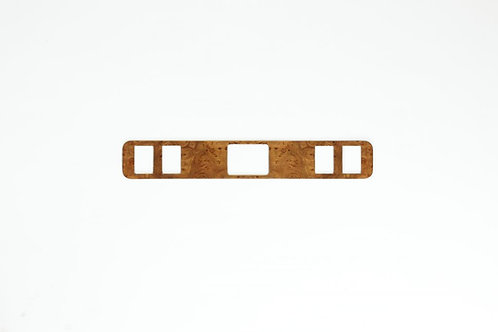 Jaguar XJS Elm Veneer Clock Surround Panel (1986-91)