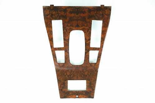 Jaguar XJS Walnut Veneer Console/Gear Shift surround for Automatic Transmissio
