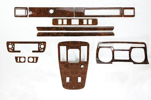 Jaguar XJS Walnut Veneer Deluxe Wood Kit (1981-85)