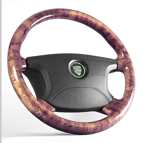 Jaguar S-Type Maple Steering Wheel