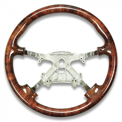 Jaguar XK8 / XKR Walnut Steering Wheel