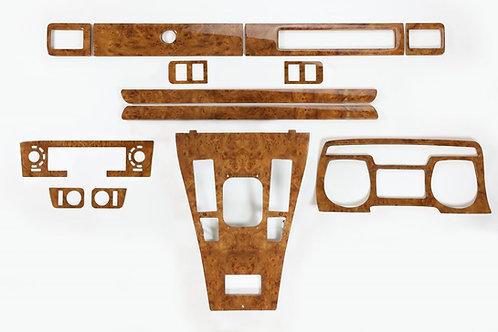 Jaguar XJS Elm Veneer Deluxe Wood Kit (1986-91)