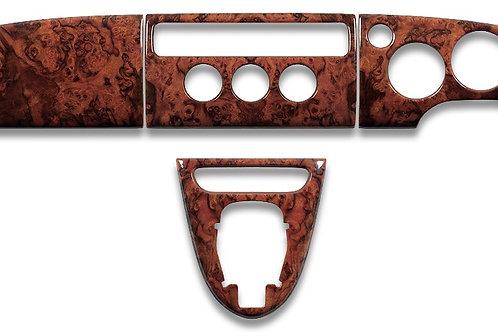 Jaguar XK8 Walnut Veneer Wood Dashboard Set RHD