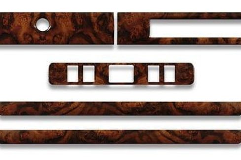 Jaguar XJS HE walnut Standard Wood Veneer Original Equipment Dashboard Kit