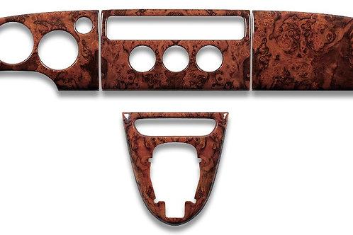 Jaguar XK8 Walnut Veneer Wood Dashboard Set LHD