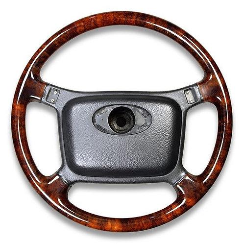 Jaguar XJS 90-93 4 Spoke Walnut Steering Wheel Non Airbag