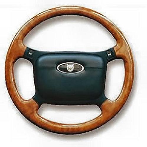 Jaguar XJS Elm Four Spoke Steering Wheel (non airbag)