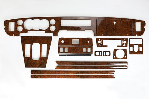 Daimler Jaguar XJ6/12 Series 3 Walnut Veneer Deluxe Wood Kit
