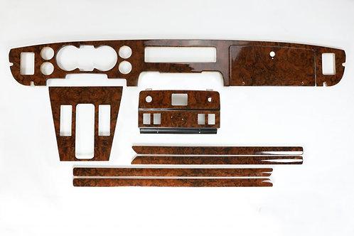 Daimler Jaguar XJ6/XJ12 Series 3 Walnut Veneer Standard Equipment Wood Kit