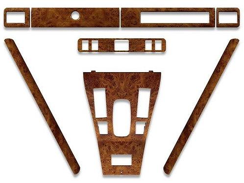 Jaguar xjs pre facelift 1986 to 1991 standard elm wood veneer original equipme