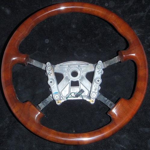 Jaguar Daimler XJ8/XJR Walnut Steering Wheel