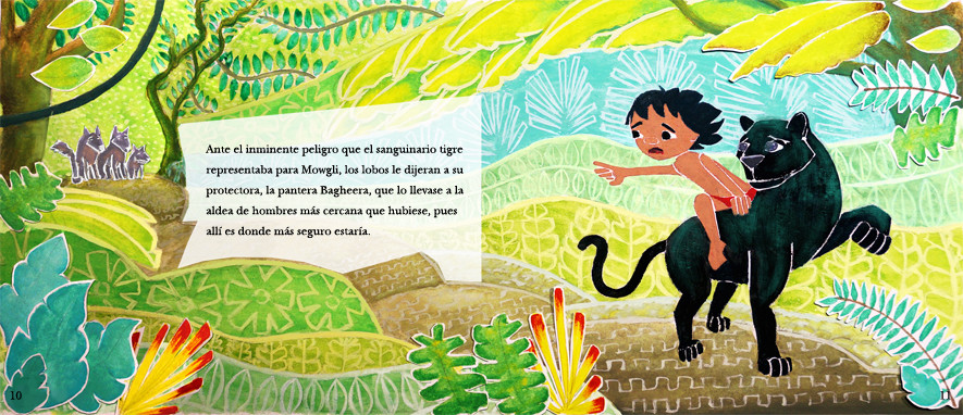 The jungle book. Story book project
