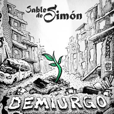 Music album cover for El sable de Simón