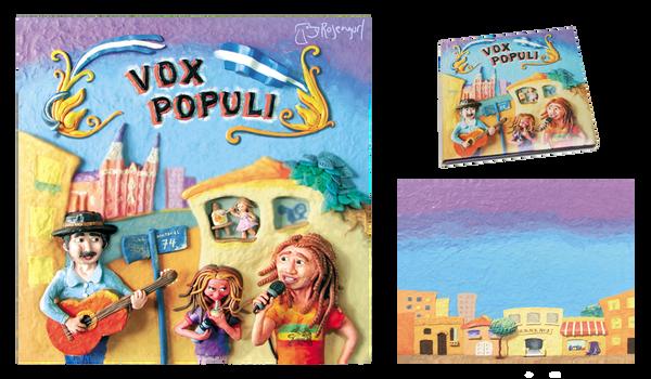 Album Covers for Vox Populi