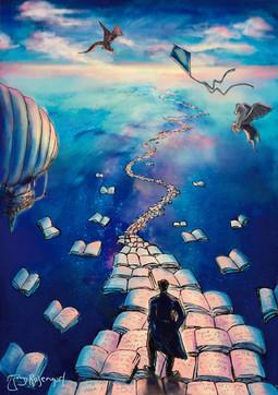 Back cover for Samantaral nº1, literature magazine, India