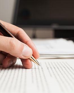Verificação de texto em um documento